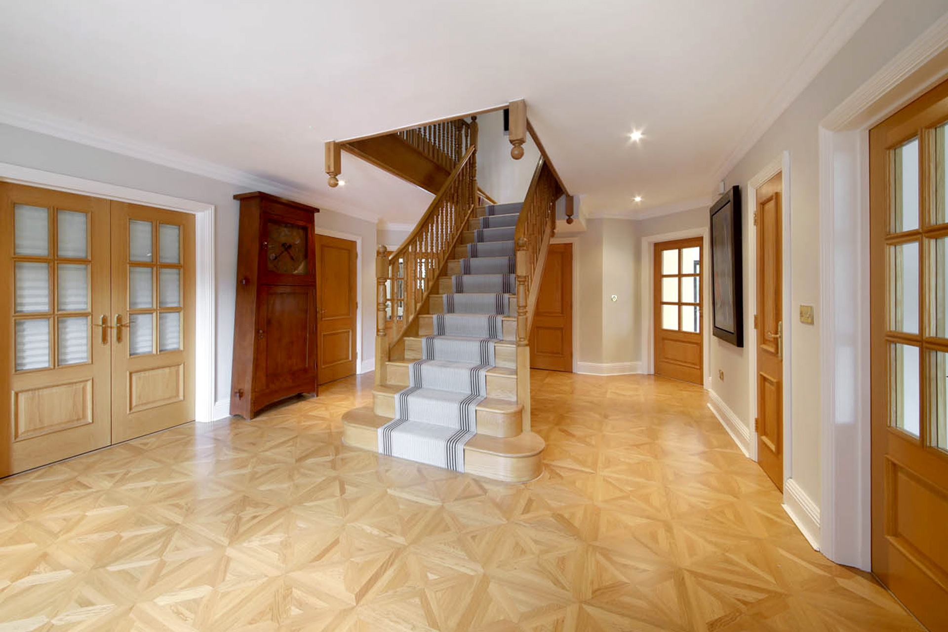 Hall stairs landings